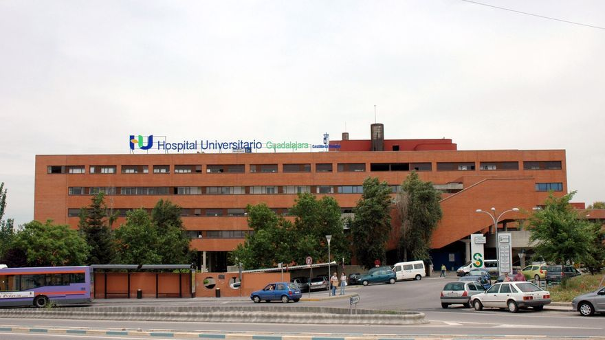 Hospital Universitario de Guadalajara. Foto oficial de la JCCM.