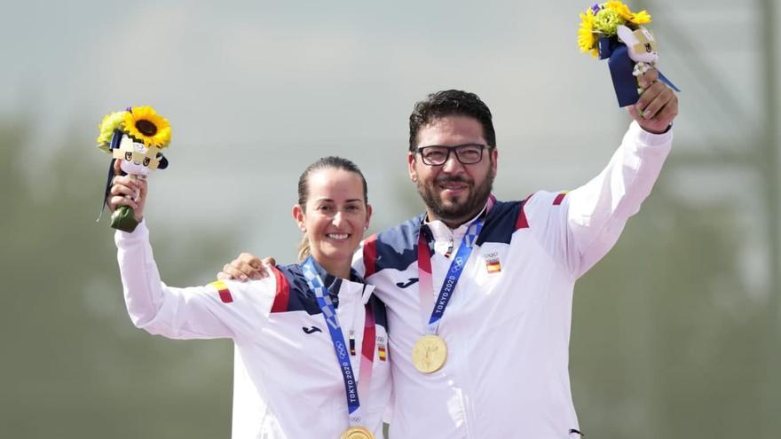 El primer oro olímpico de España en Tokyo llega desde Toledo: triunfo en tiro de Alberto Fernández junto a Fátima Gálvez