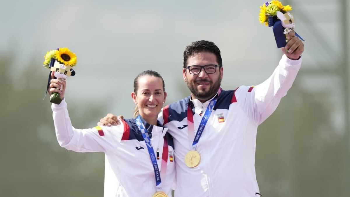 Alberto Fernández y Fátima Gálvez