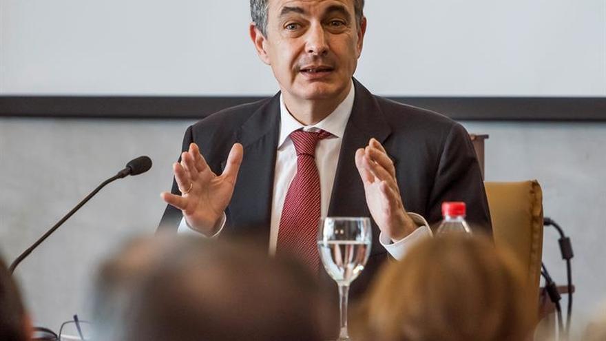 Zapatero aboga por el diálogo para resolver el conflicto político Venezuela