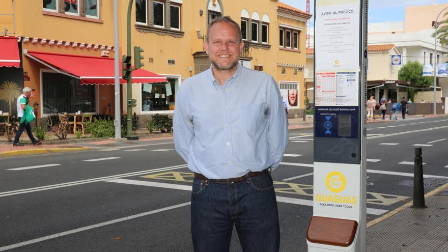 José Eduardo Ramírez, concejal de Movilidad de Las Palmas de Gran Canaria