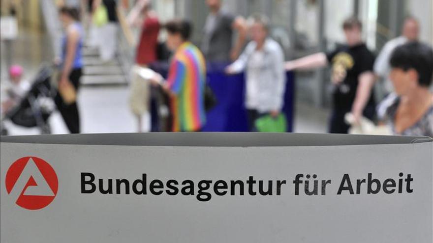 Una oficina de empleo en Alemania.