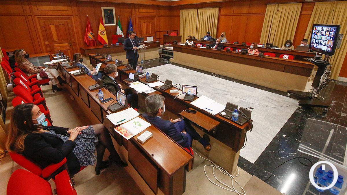 Último Pleno celebrado en Capitulares