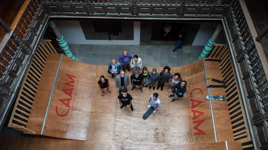 Presentación de la exposición de Shaun Gladwell en el CAAM 2