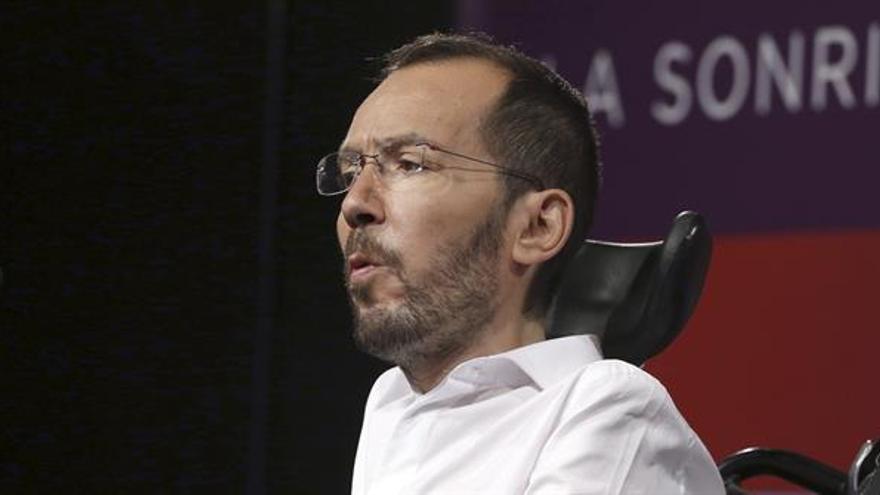 "Echenique ve ""probabilidades muy altas"" de que Rajoy sea presidente pronto"
