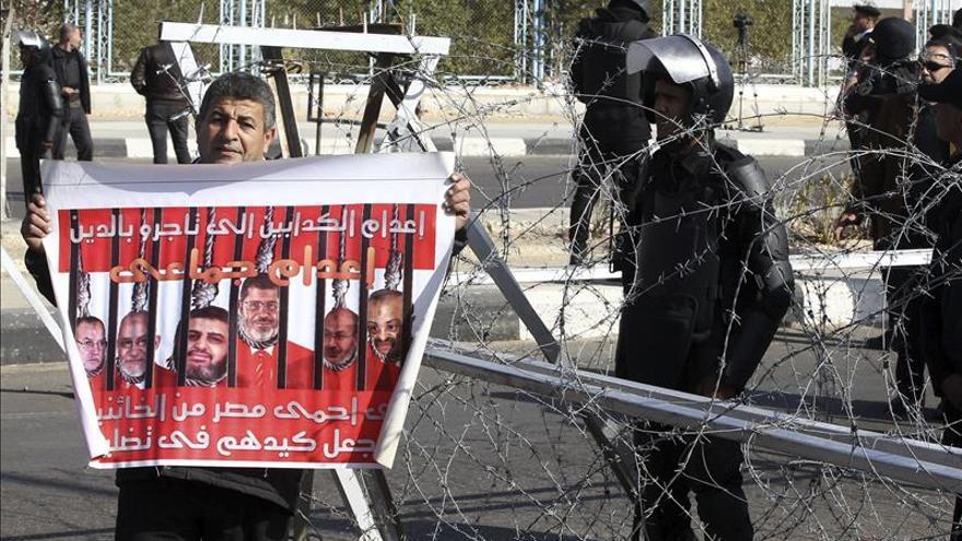 Ejecutan en Egipto a seis personas condenadas por terrorismo