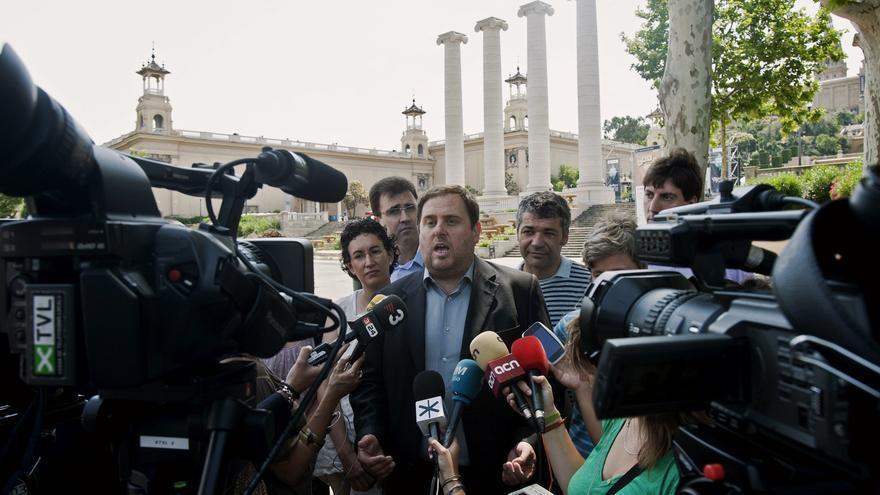 Junqueras dice que Europa sabría responder a las amenazas de juzgar a Mas por sedición