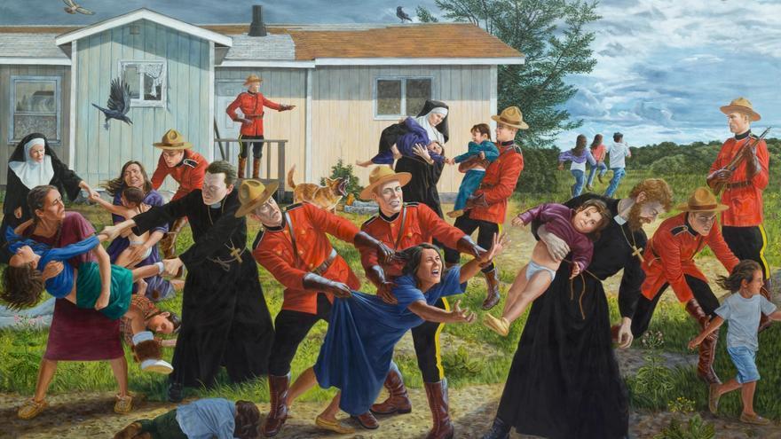 Canadá celebra su 150 aniversario mientras que los indígenas denuncian que se está olvidando su historia