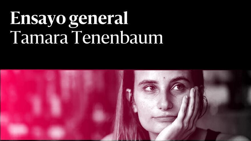 Tamara Tenenbaum Ensayo general rojo