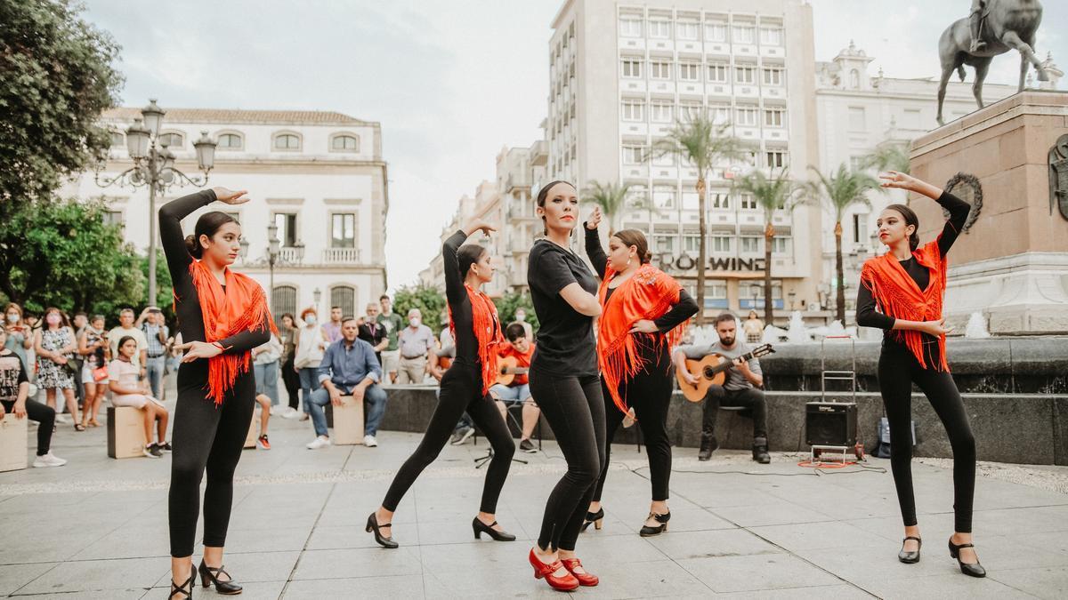 Flashmob en Las Tendillas