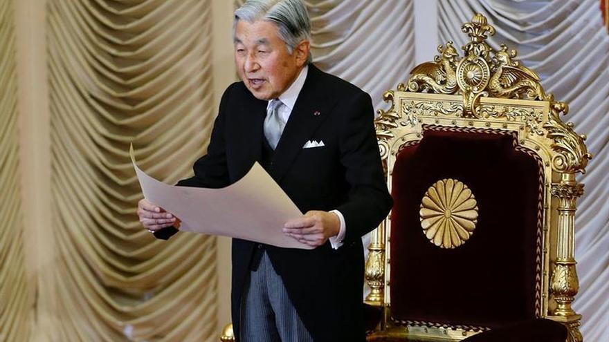 El emperador Akihito de Japón aborda hoy su futura abdicación en televisión