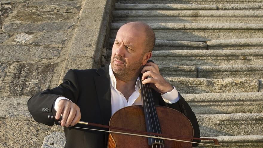 El violonchelista italiano Enrico Dindo, solista invitado de la Orquesta Sinfónica de Euskadi