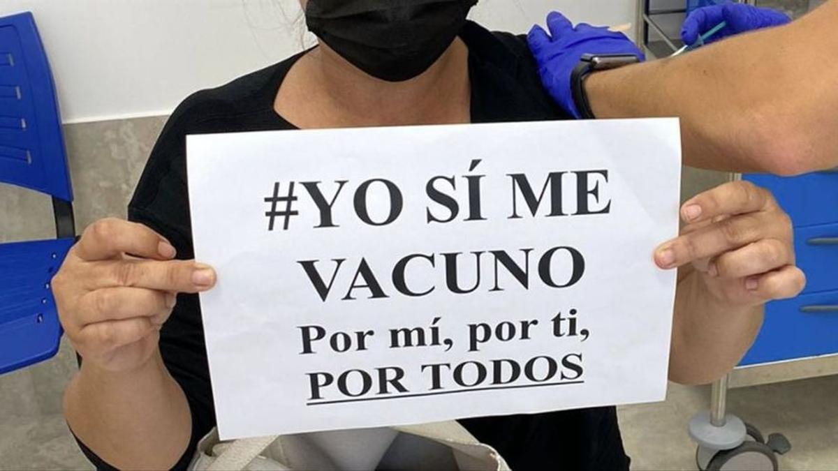 Vacunación del Gobierno de Canarias.