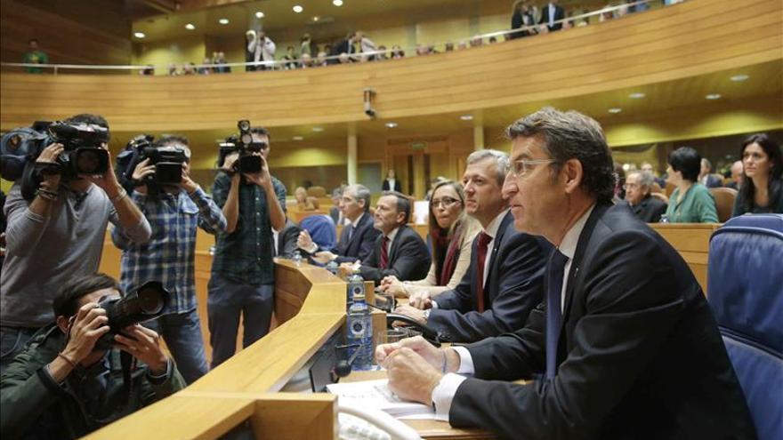 Feijóo asegura que Galicia dejará la crisis antes o igual que el resto de España, no por detrás
