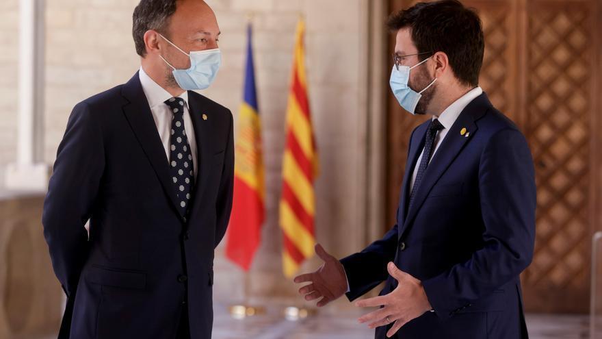 Aragonès confía en que el Gobierno no recurrirá el fondo del Tribunal de Cuentas