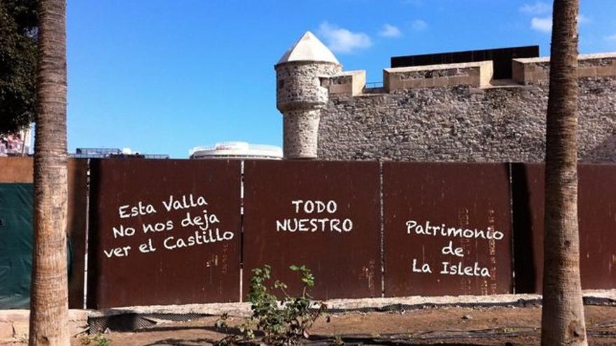 Entrada principal a la fortificación.