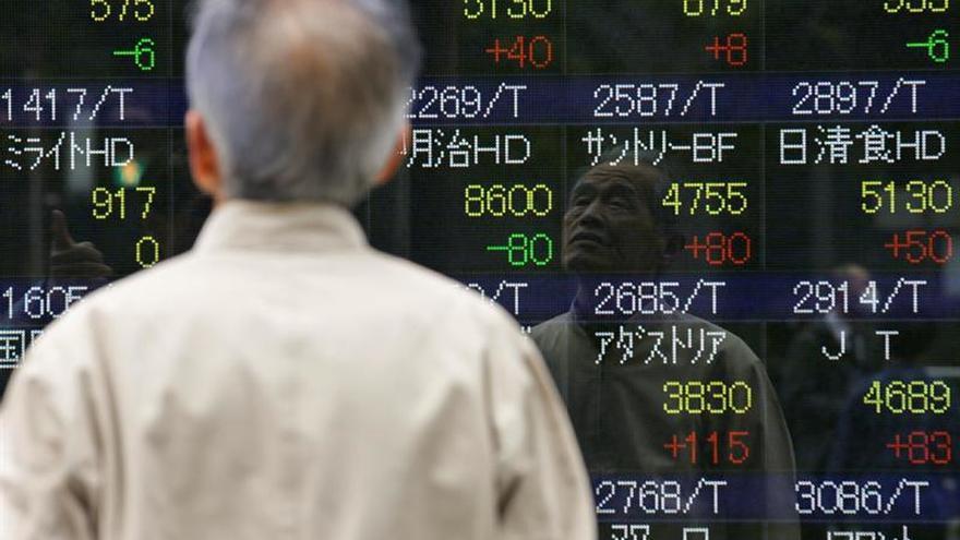 La Bolsa de Tokio abre con una caída del 0,04 por ciento los 19.394,53 puntos