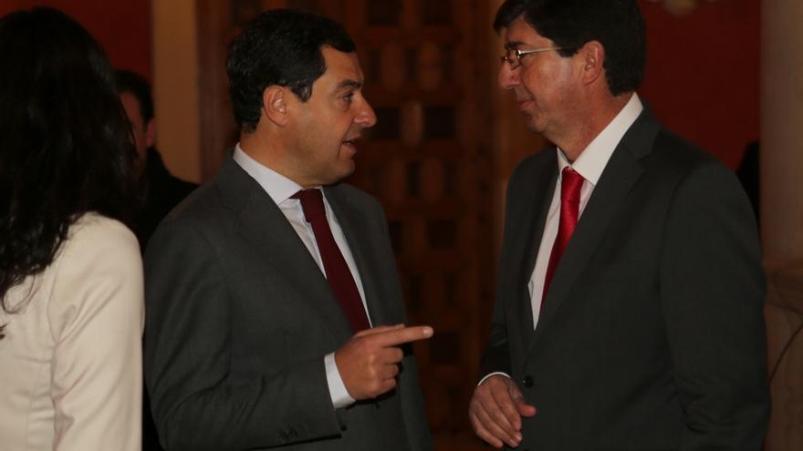 Moreno y Marín abrirán el martes junto a García Egea y Villegas las reuniones para un acuerdo PP-Cs tras el 2D
