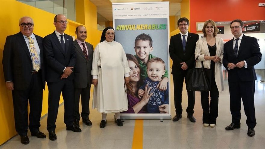 Puigdemont, en su visita a Viladecans