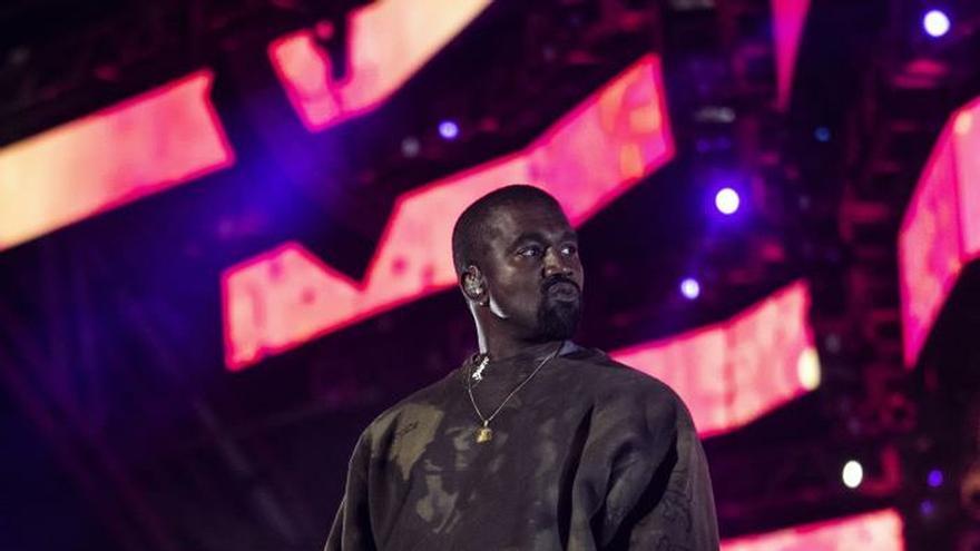 Kanye West en una reciente actuación en Coachella.