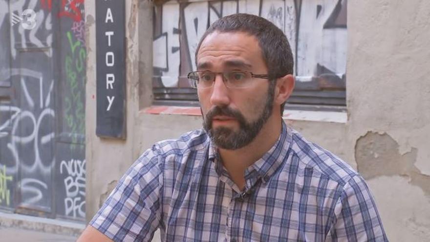 Marc Olivé, en una entrevista en TV3