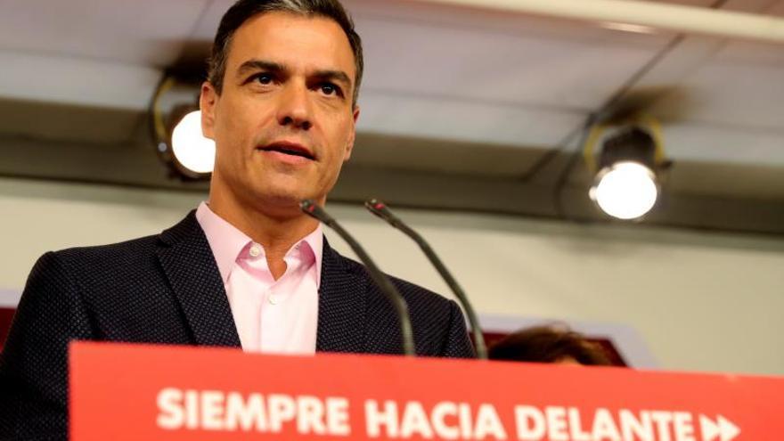 Sánchez pide a Cs que no pacte con Vox y levante el cordón sanitario al PSOE