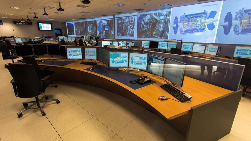 Sala de control de ATLAS | Foto CERN