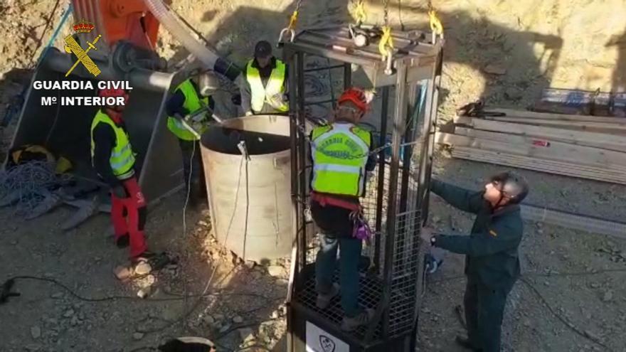 El operativo de rescate excava más de la mitad de la galería para llegar hasta Julen