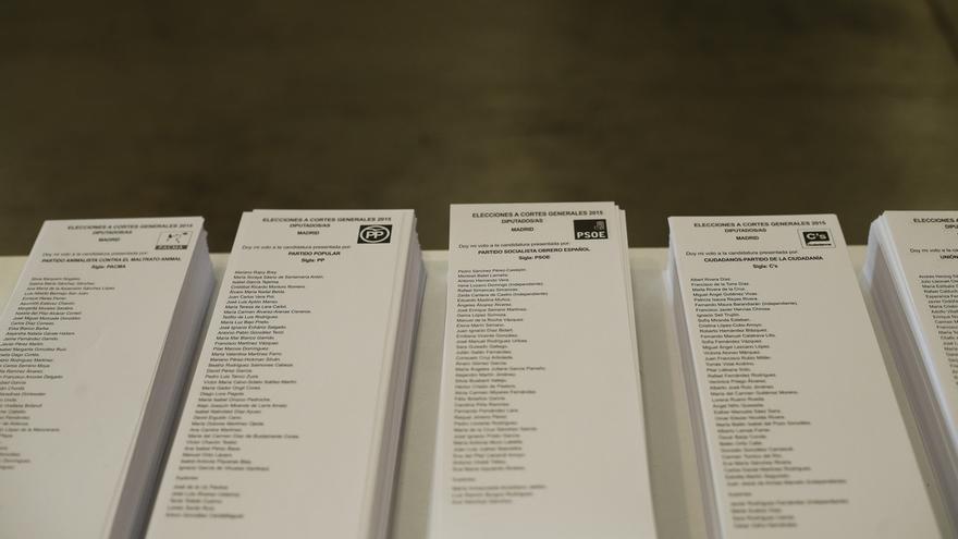 La Junta Electoral Central dará el jueves vía libre a las doce coaliciones presentadas