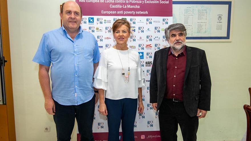 Braulio Carlés, Aurelia Sánchez y Gregorio Gómez Bolaños