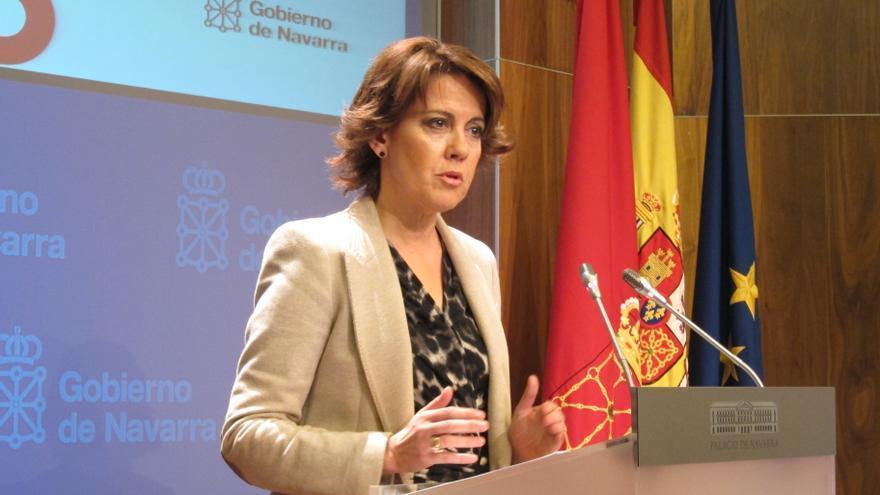 Barcina espera que la flexibilización del déficit a España se traslade también a las Comunidades Autónomas