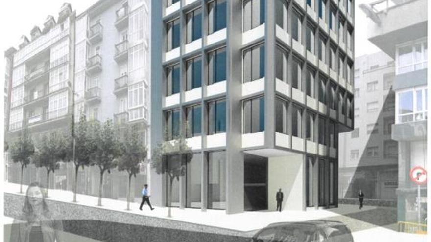 Proyecto de edificio de oficinas del Ayuntamiento de Santander. | AYUNTAMIENTO DE SANTANDER