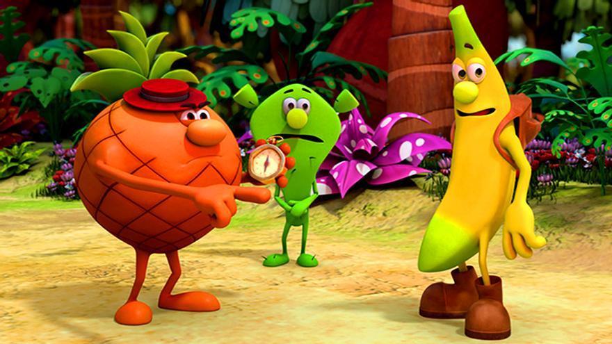 'Los Fruittis' preparan su regreso a la TV en versión 3D