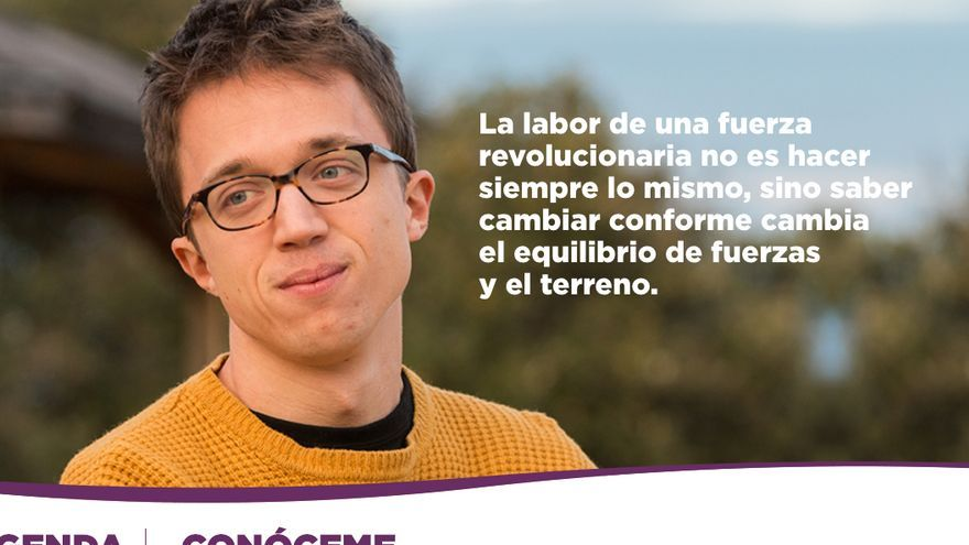 Captura de la web de Íñigo Errejón.