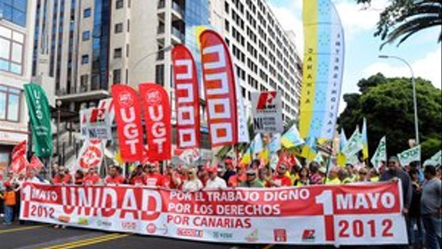 Manifestación en Santa Cruz de Tenerife. (ACFI PRESS)