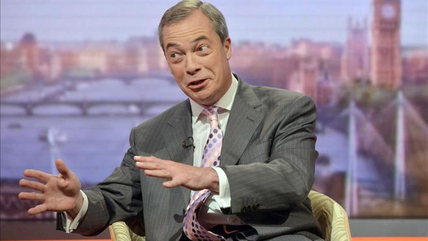 El euroescéptico UKIP se sitúa como favorito en las elecciones europeas