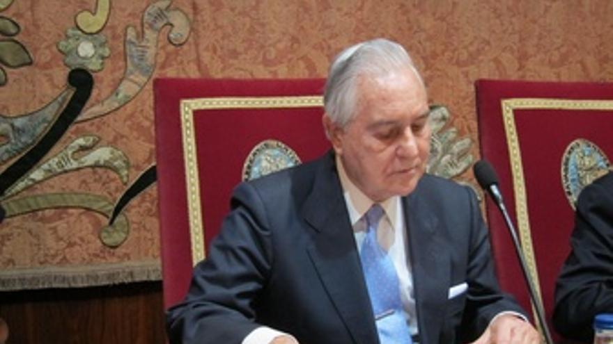 El Presidente Del CGPJ En Una Visita A La Universidad De Navarra.