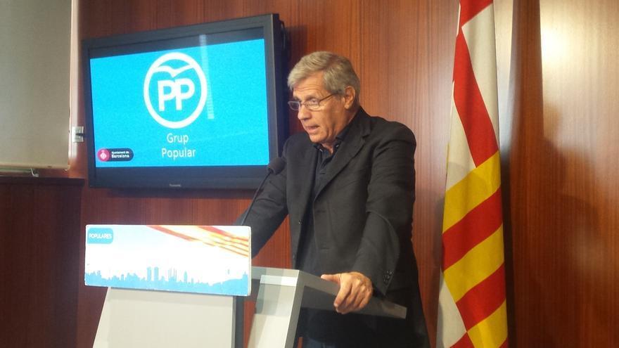 Alberto Fernández (PP) pide a Colau no ceder locales para celebrar el referéndum