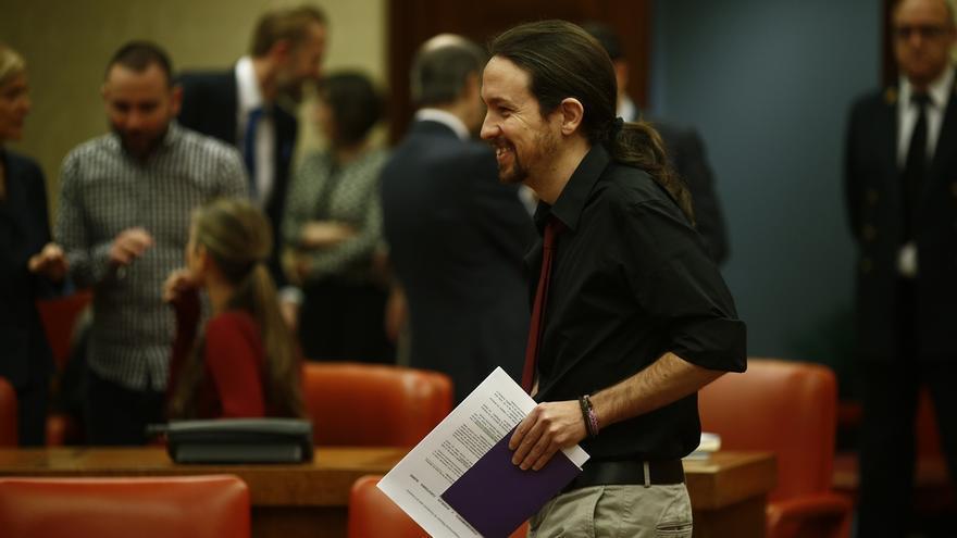 """Iglesias saluda la libertad de Otegi y dice que """"nadie debería ir a la cárcel por sus ideas"""""""