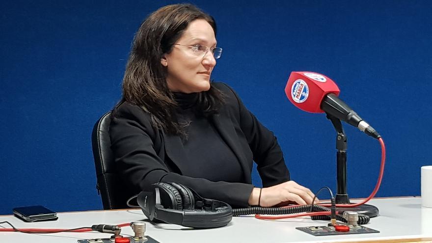 Zaida González, durante su entrevista en Radio Marca Tenerife