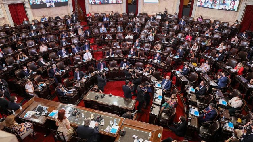 Congreso de la Nación: apertura de sesiones, Alberto Fernández y Cristina Kirchner