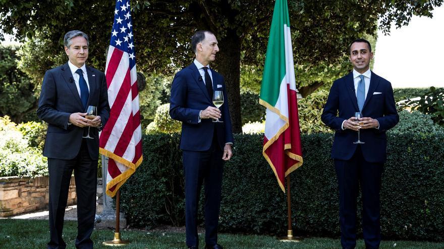 Blinken llega a Italia para reunirse con el papa, la alianza anti ISIS y G20