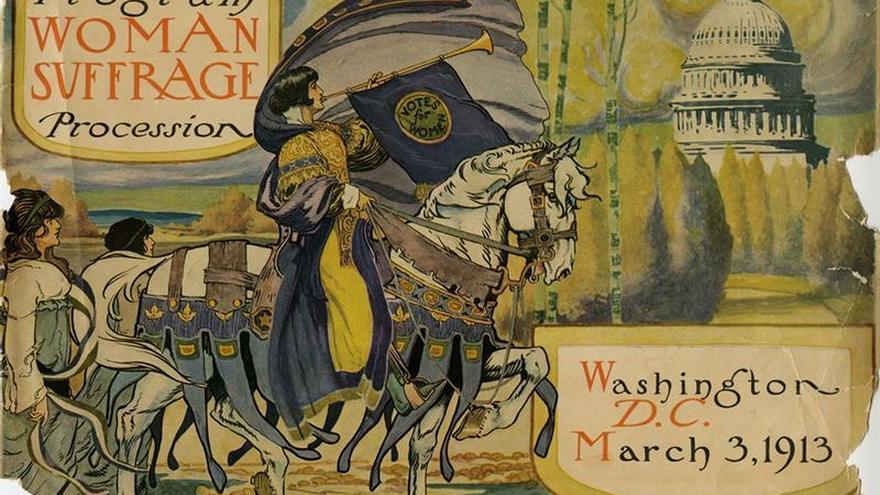 Las mujeres a las urnas, un siglo del triunfo de las sufragistas en EE.UU.