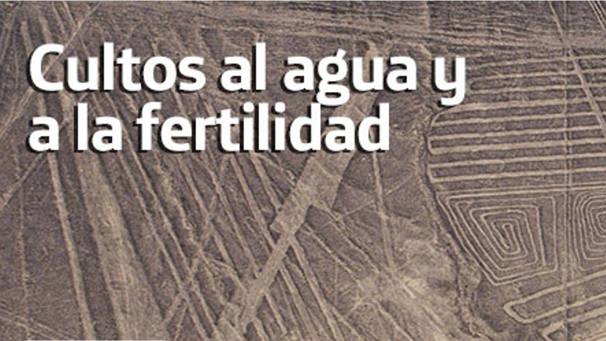 Cartel de la conferencia Cultos al agua y a la fertilidad