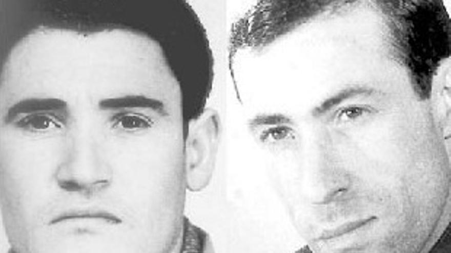 Imagen de Francisco Granados y Joaquín Delgado, últimos ejecutados con garrote vil / Asocación para la Recuperación de la Memoria Histórica de Extremadura