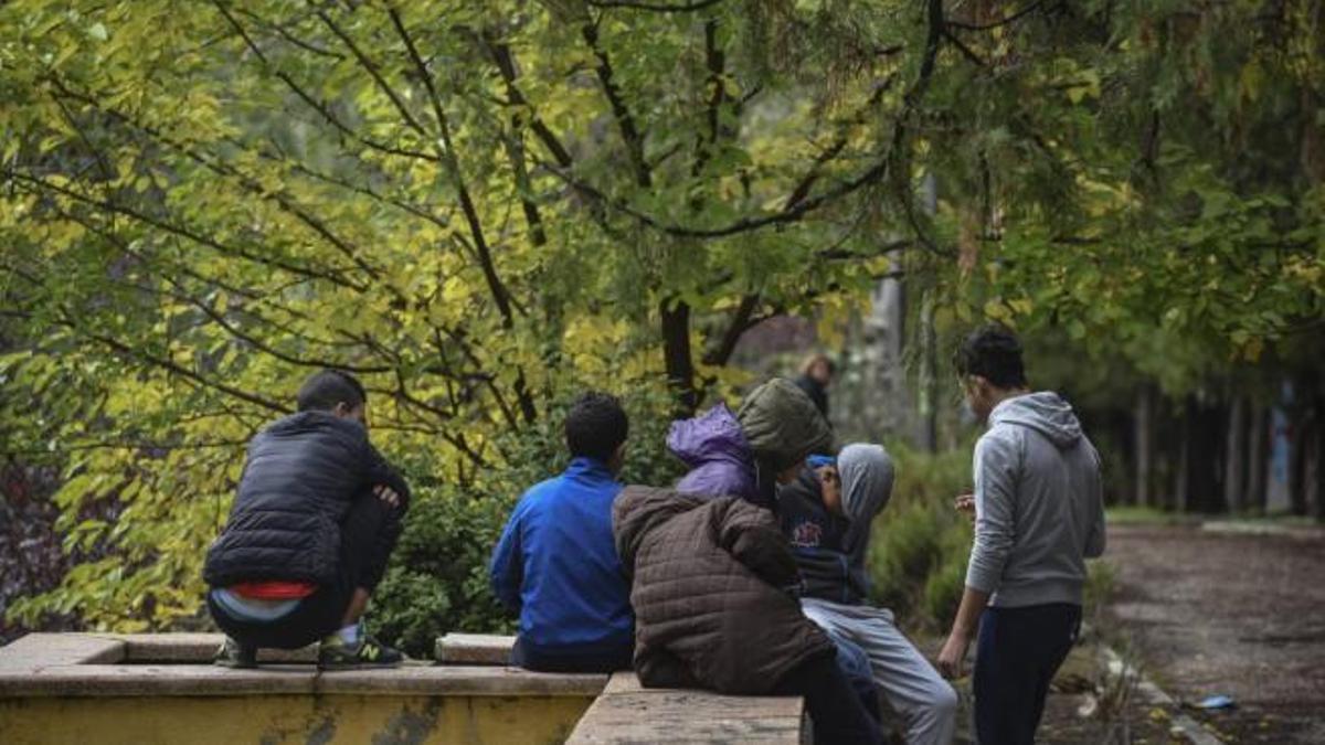 Menores extranjeros no acompañados en Las Raíces