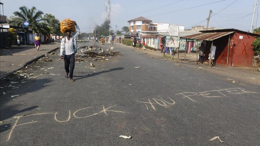 La UE suspende su misión de observación electoral en Burundi