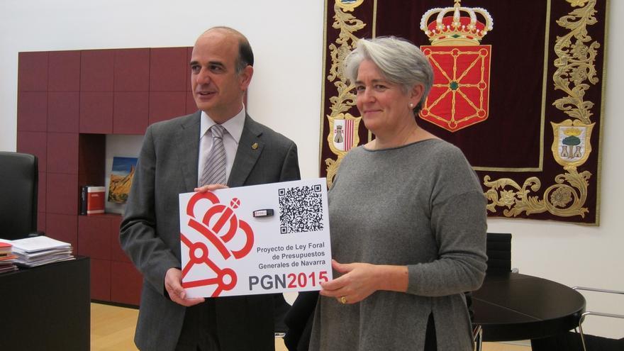 """El Gobierno foral traslada al Parlamento el proyecto de Presupuestos que """"Navarra necesita"""""""