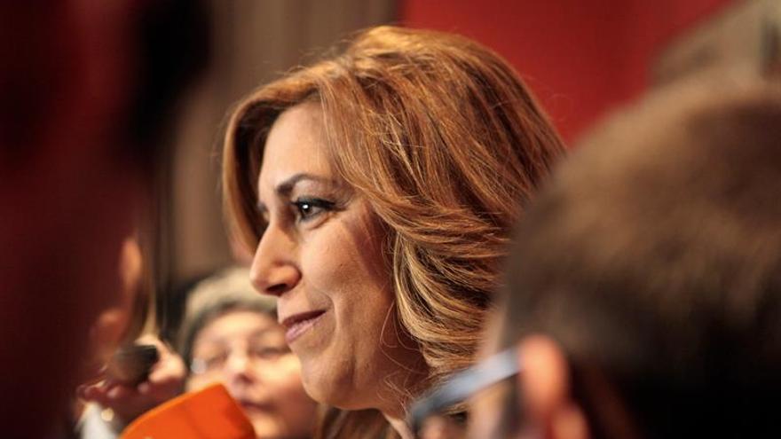 Susana Díaz rinde homenaje a Pablo Iglesias en el 91 aniversario de su muerte