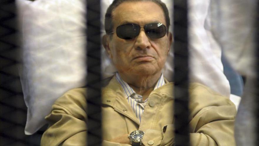 La Justicia egipcia revisará hoy la petición para liberar a Mubarak